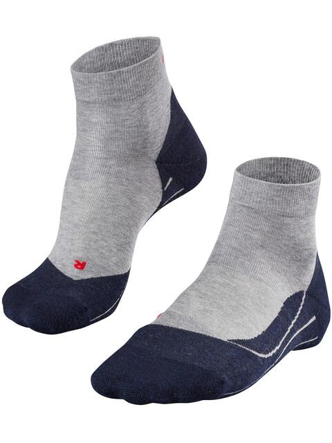Falke RU4 Short Running Socks Men light grey